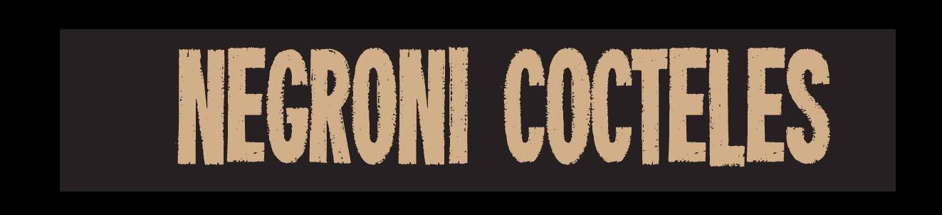negroni cocteles